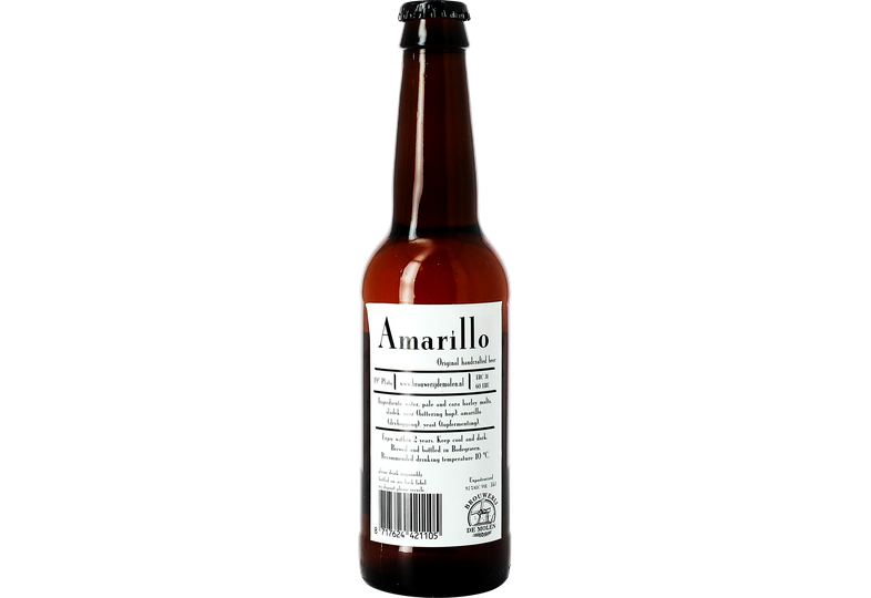 Bottled beer - De Molen Amarillo