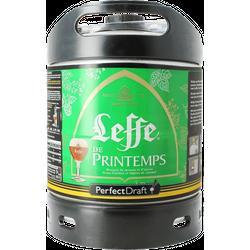Fässer - Leffe de Printemps, Frühling Bier PerfectDraft Fass 6 liter - Mehrweg