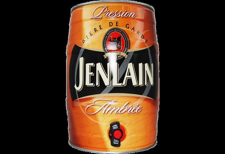 Fûts de bière - Fût 5L Jenlain Ambrée