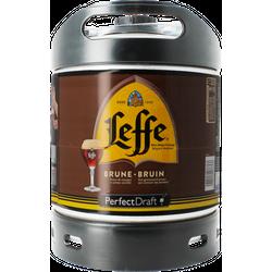 Fûts de bière - Fût 6L Leffe Brune
