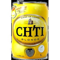 Fûts de bière - Fût 5L Ch'ti blonde