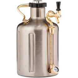 Brewer s accessories - uKeg GrowlerWerks 3,8 L acier inoxydable 128