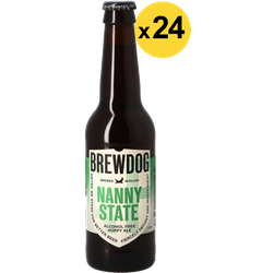 Flaskor - Big Pack Brewdog Nanny State x24