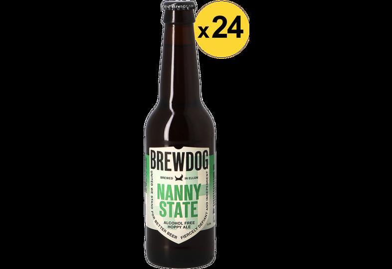 Bottled beer - Big Pack Brewdog Nanny State x24