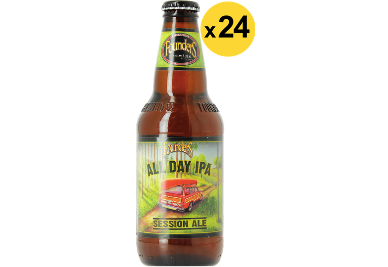 Bottled beer - Big Pack Founders All day IPA x24