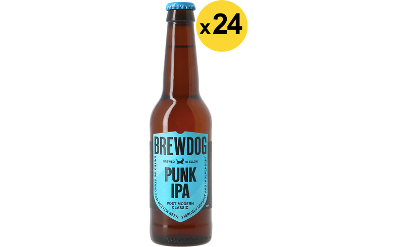 Bottled beer - Brewdog Punk IPA Voordeelverpakking - 24 stuks