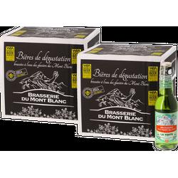 Bouteilles - Big Pack Verte du Mont Blanc - 24 bières