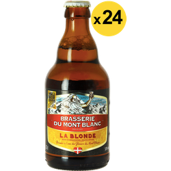 Botellas - Big Pack Blonde du Mont Blanc x24