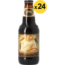Flessen - Founders Breakfast Stout Big Pack - 24 stuks