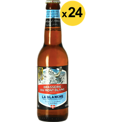 Botellas - Big Pack Blanche du Mont Blanc x24