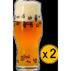 Beer glasses - 2 Magic Rock - Craft Master Glasses