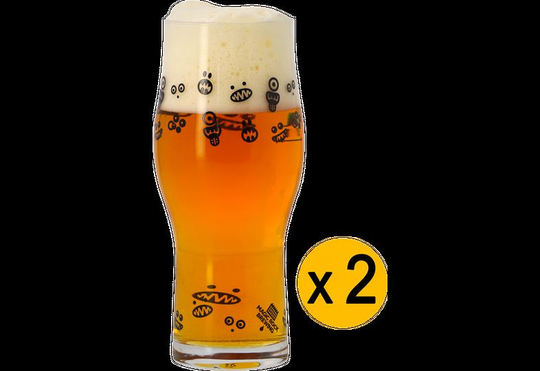Verres à bière - 2 Verres Magic Rock - Craft Master