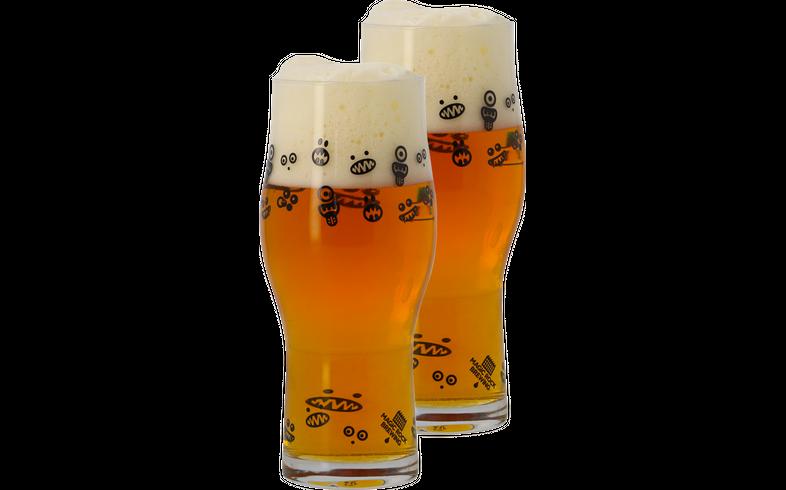 Verres à bière - 2 Verres Magic Rock 25cl - Craft Master