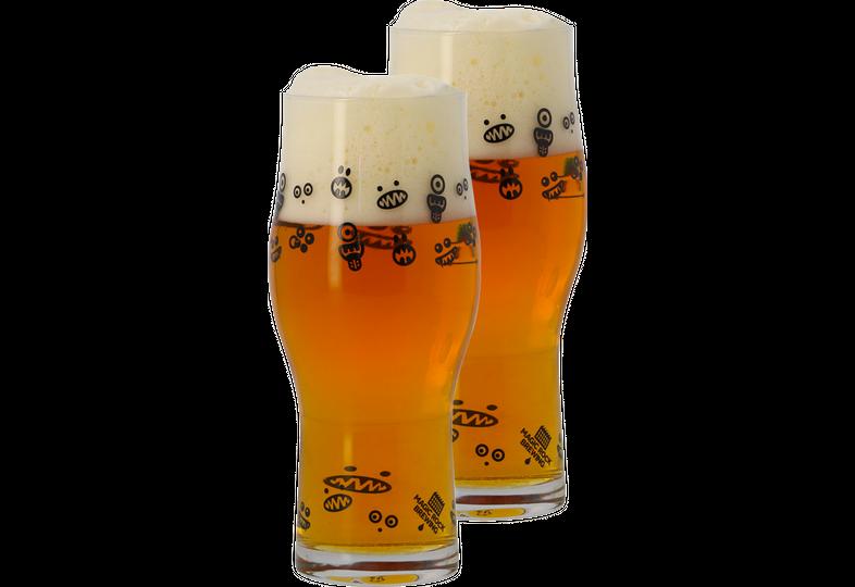 Biergläser - 2 Magic Rock - Craft Master Glasses