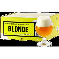 Brassage - Recette Bière Blonde - Recharge pour Beer Kit Intermédiaire