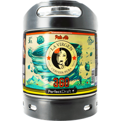 Kegs - La Virgen 360 Perfect Draft keg 6L deposit incl.