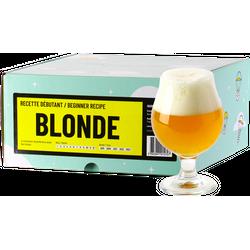 Brassage - Recette Bière Blonde - Recharge pour Beer Kit Débutant
