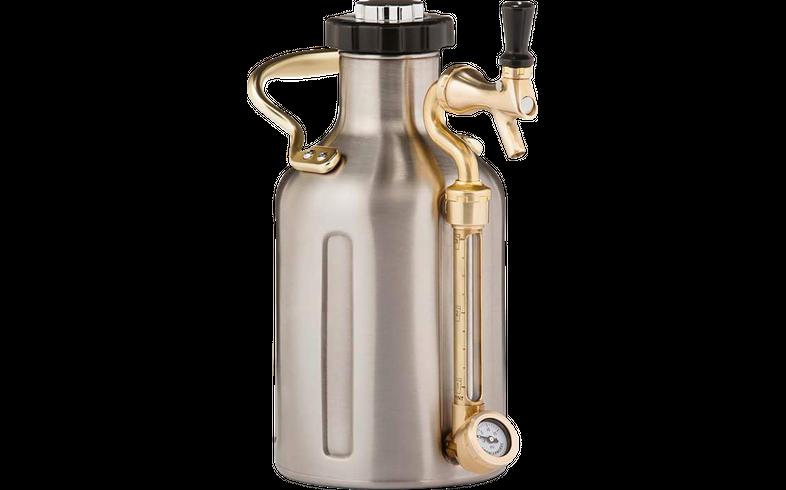 Accessoires du brasseur - ukeg growlerwerks 1,9 L - Tireuse portative en acier inoxydable (64 onces)