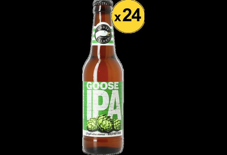 Bouteilles - Big Pack Goose Island IPA - 24 bières