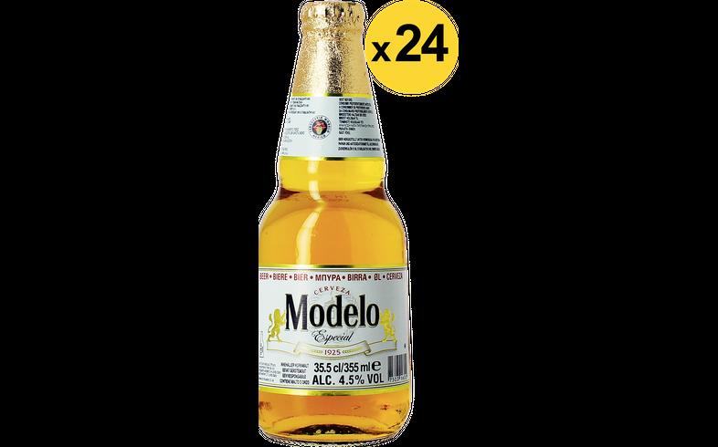 Bottled beer - Big Pack Modelo Especial - 24 bières