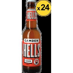 Flessen - Camden Hells Lager Voordeelverpakking - 24 stuks