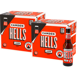 Bottled beer - Camden Hells Lager Big Pack - 24 pcs