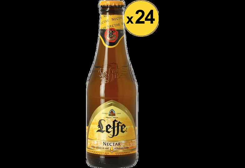 Botellas - Big Pack Leffe Nectar - 24 bières