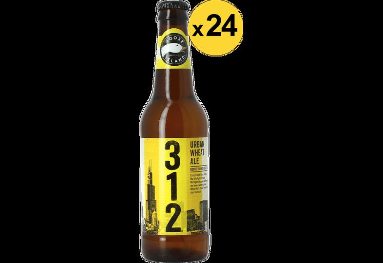 Bottiglie - Big Pack Goose Island 312 Urban Wheat Ale x24