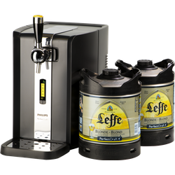 Thuistap - PerfectDraft Leffe Blonde XL Starter Kit 2X6L + Machine Promo - Perfect Draft