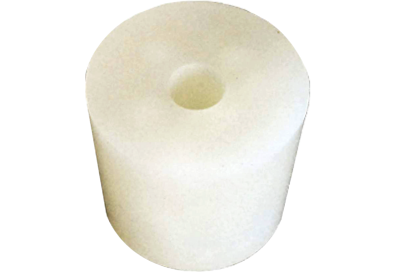 Brewer s accessories - bouchon en silicone  36/44 mm - avec trou 9 mm - siilicon stopper