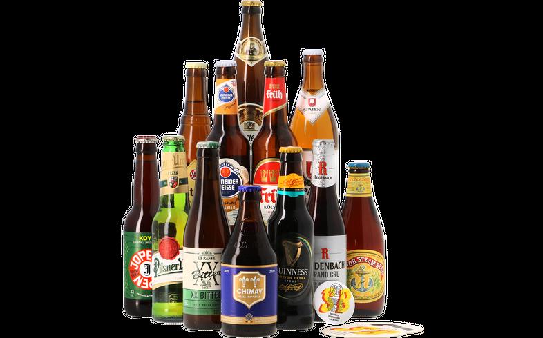 Cadeaus en accessoires - Klassieke Stijlen Bier Pakket (12 bieren)