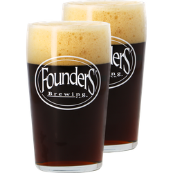Ölglas - Pack 2 verres Founders - 50 CL