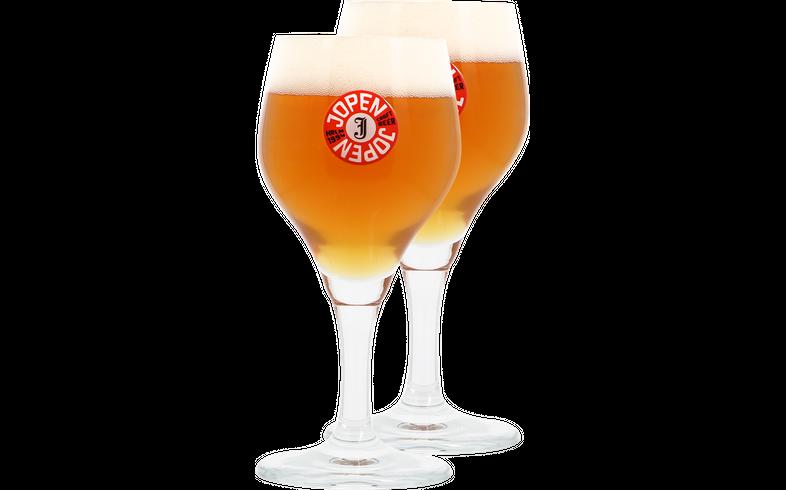 Verres à bière - Pack 2 Verres Jopen - 25 CL