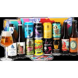 Cadeaus en accessoires - 12 Stijlen Cadeau Pakket (12 bieren + 1 glas)