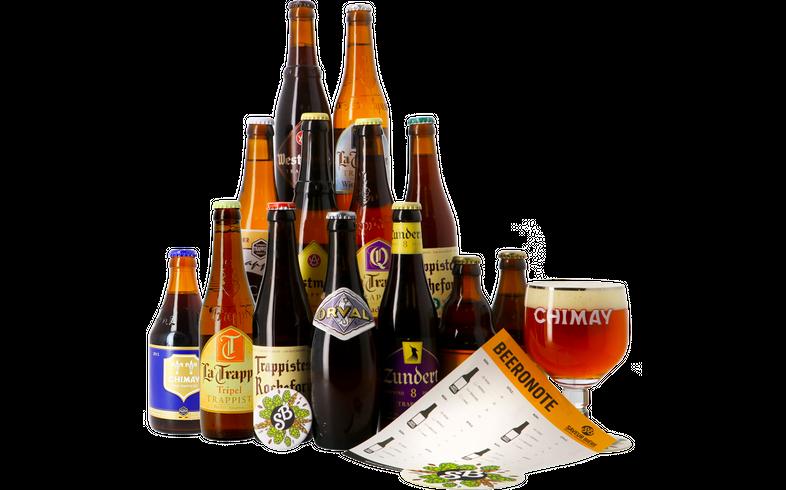 Cadeaus en accessoires - Bierpakket Trappist -14 stuks