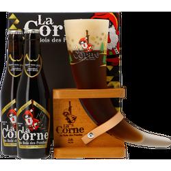 Gifts - Coffret La Corne du Bois des Pendus Hiver - 2 bières et 1 verre