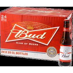 Bouteilles - Big Pack Bud 25cl - 24 beers