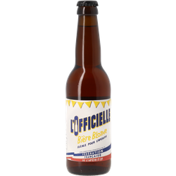 Bottled beer - L'Officielle Blonde