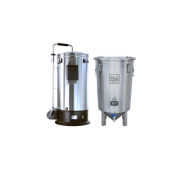 Cuves de brassage - Pack Duo Brassage & Fermentation - Grainfather Connect + Brew Bucket BME 7 Gal. Ss Brewtech
