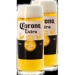 Beer glasses - Pack 2 verres Corona 50 cl