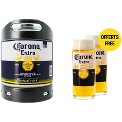 Fusti - Fusto Corona PerfectDraft 6L + 2 bicchieri