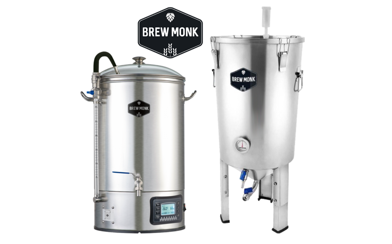 Braukessel - Brew Monk Brewing & Fermentation Pack - Brew Tank 30 L + Fermentation Tank 30 L