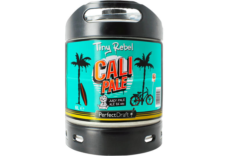 Tapvaten - Tiny Rebel Cali Pale PerfectDraft Vat 6L