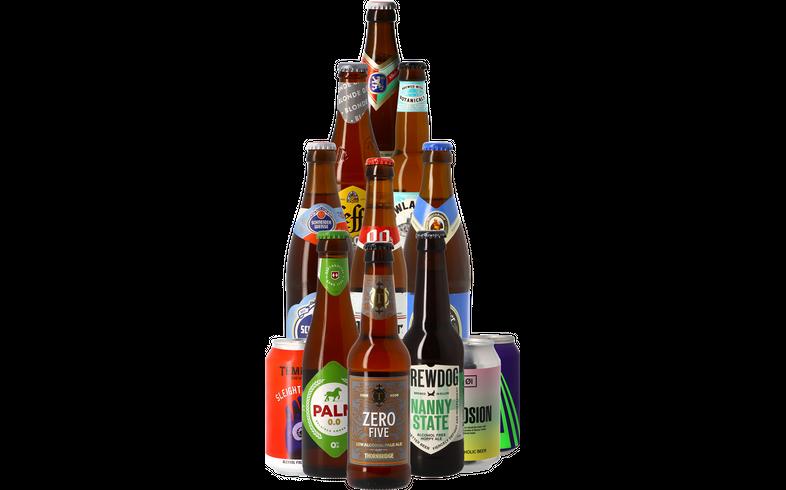 Bierpakketten - Dry January alcoholvrij bier pack - 12 stuks