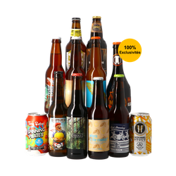 Bierpakketten - Unieke Toppers 12x33cl