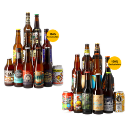 Cofanetti di birra artigianale - Cofanetto di stili classici + Cofanetto di stili innovativi