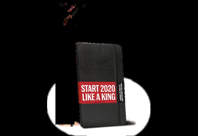 Bücher über das Bierbrauen - Moleskine Notebook  Jahr 2020