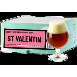Kit di brassaggio e ricariche - Recette Bière St Valentin - Recharge pour Beer Kit Débutant
