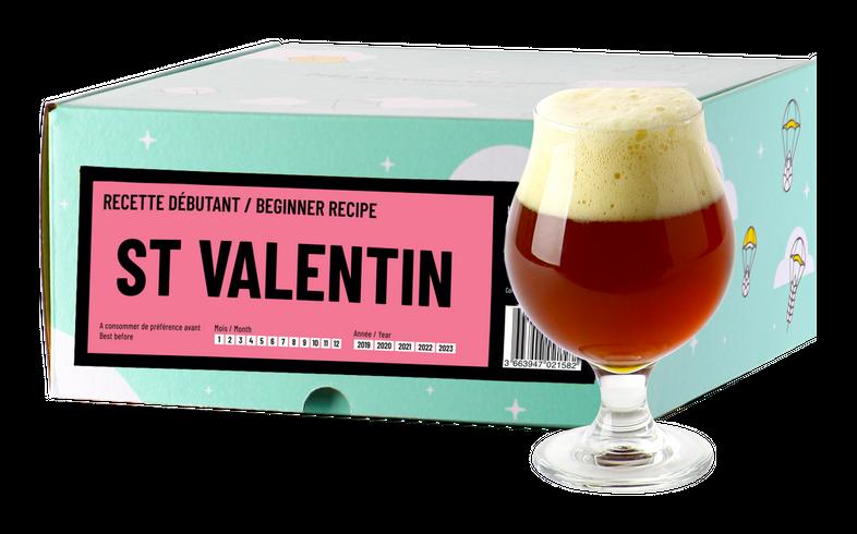 Kit à bière & Recharge beer kit - Recette Bière St Valentin - Recharge pour Beer Kit Débutant