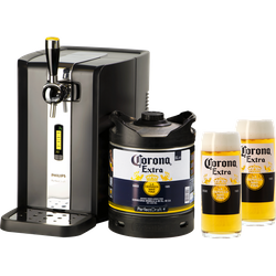 Bouteilles - Pack Tireuse Perfectdraft Corona et 2 verres Corona offerts